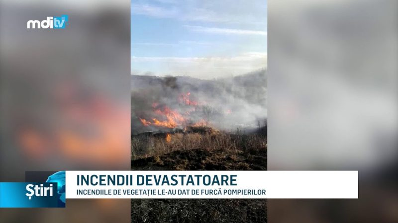 INCENDII DEVASTATOARE