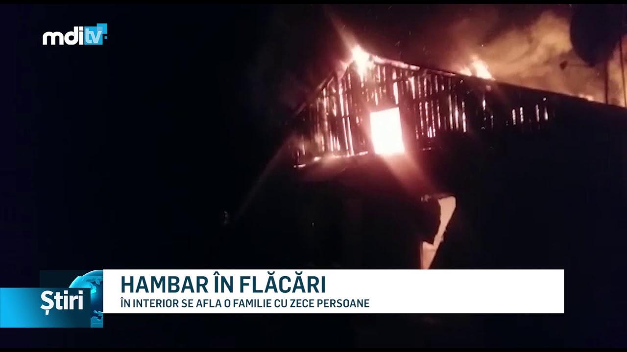HAMBAR ÎN FLĂCĂRI