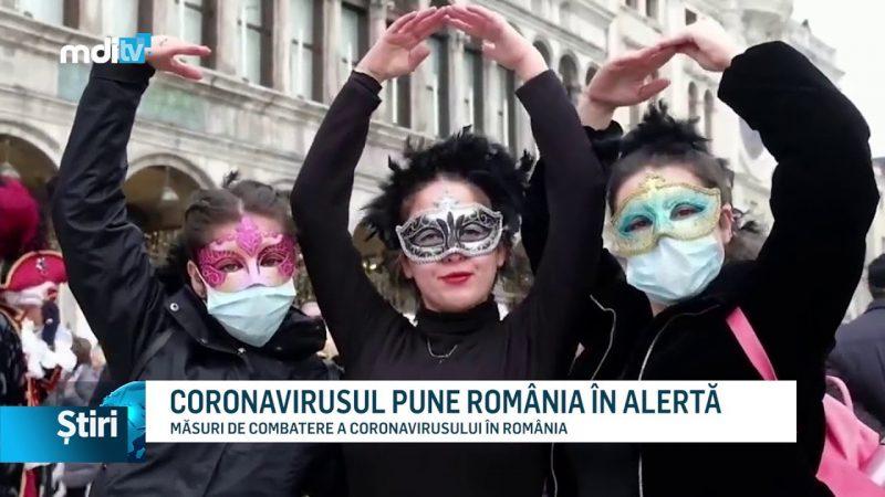CORONAVIRUSUL PUNE ROMÂNIA ÎN ALERTĂ