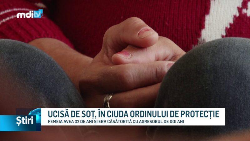 UCISĂ DE SOȚ, ÎN CIUDA ORDINULUI DE PROTECȚIE