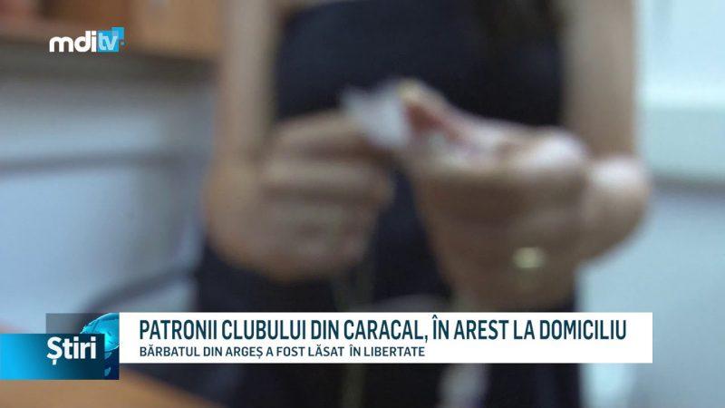 PATRONII CLUBULUI DIN CARACAL, ÎN AREST LA DOMICILIU