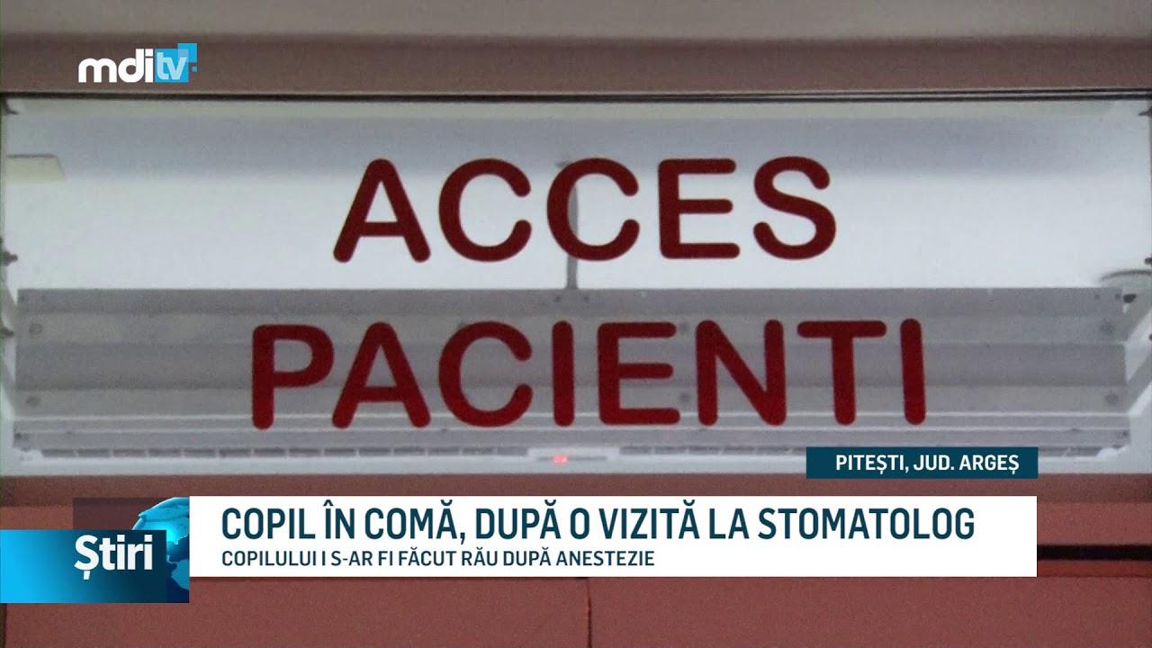 COPIL ÎN COMĂ, DUPĂ O VIZITĂ LA STOMATOLOG
