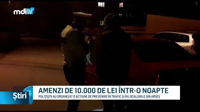 AMENZI DE 10.000 DE LEI ÎNTR-O NOAPTE