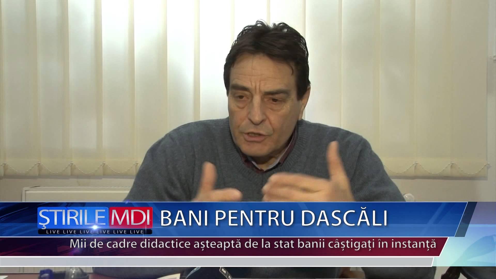 BANI PENTRU DASCĂLI – VIDEO