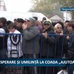 """DISPERARE ȘI UMILINȚĂ LA COADA """"AJUTOARELOR"""" – VIDEO"""