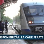 DISPONIBILIZARI LA CAILE FERATE – VIDEO