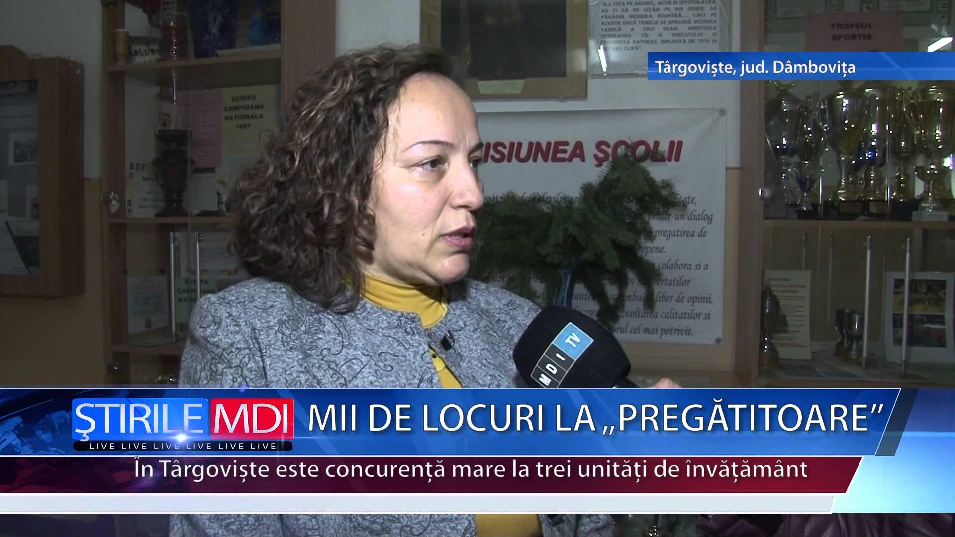 """MII DE LOCURI LA """"PREGĂTITOARE"""""""