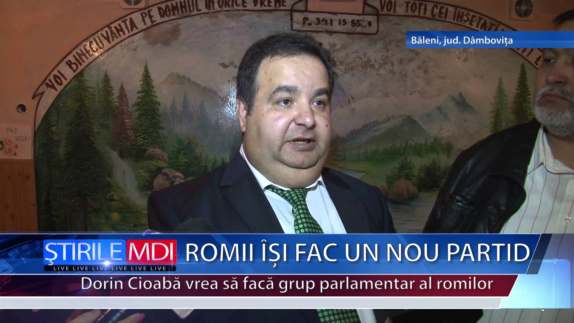 Romii își fac un nou partid – VIDEO