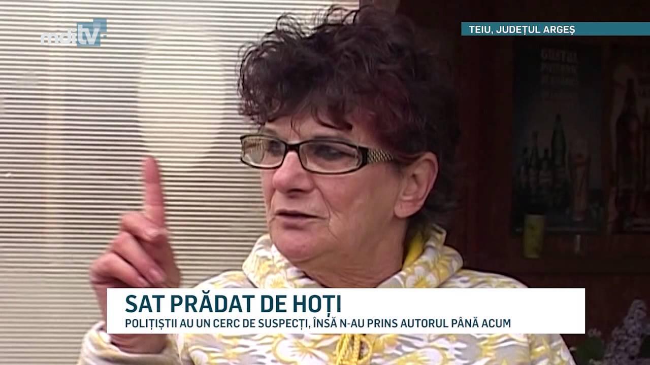 SAT PRĂDAT DE HOȚI