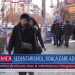 SEDENTARISMUL, BOALA CARE ADUCE BOLI – VIDEO