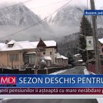 SEZON DESCHIS PENTRU SCHI – VIDEO
