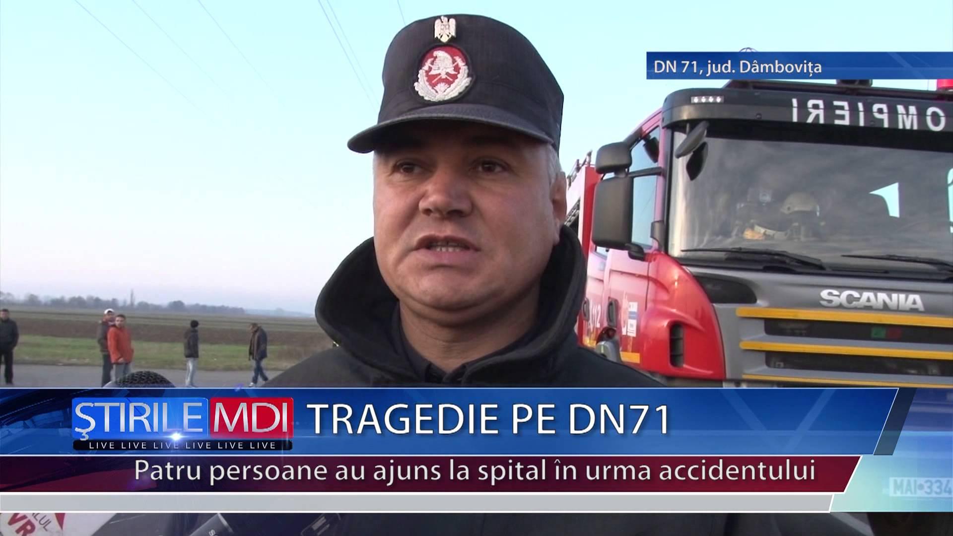 TRAGEDIE PE DN71 – VIDEO