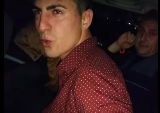 POLIȚIST BĂUT, OPRIT CU FOCURI DE ARMĂ ! VIDEO!