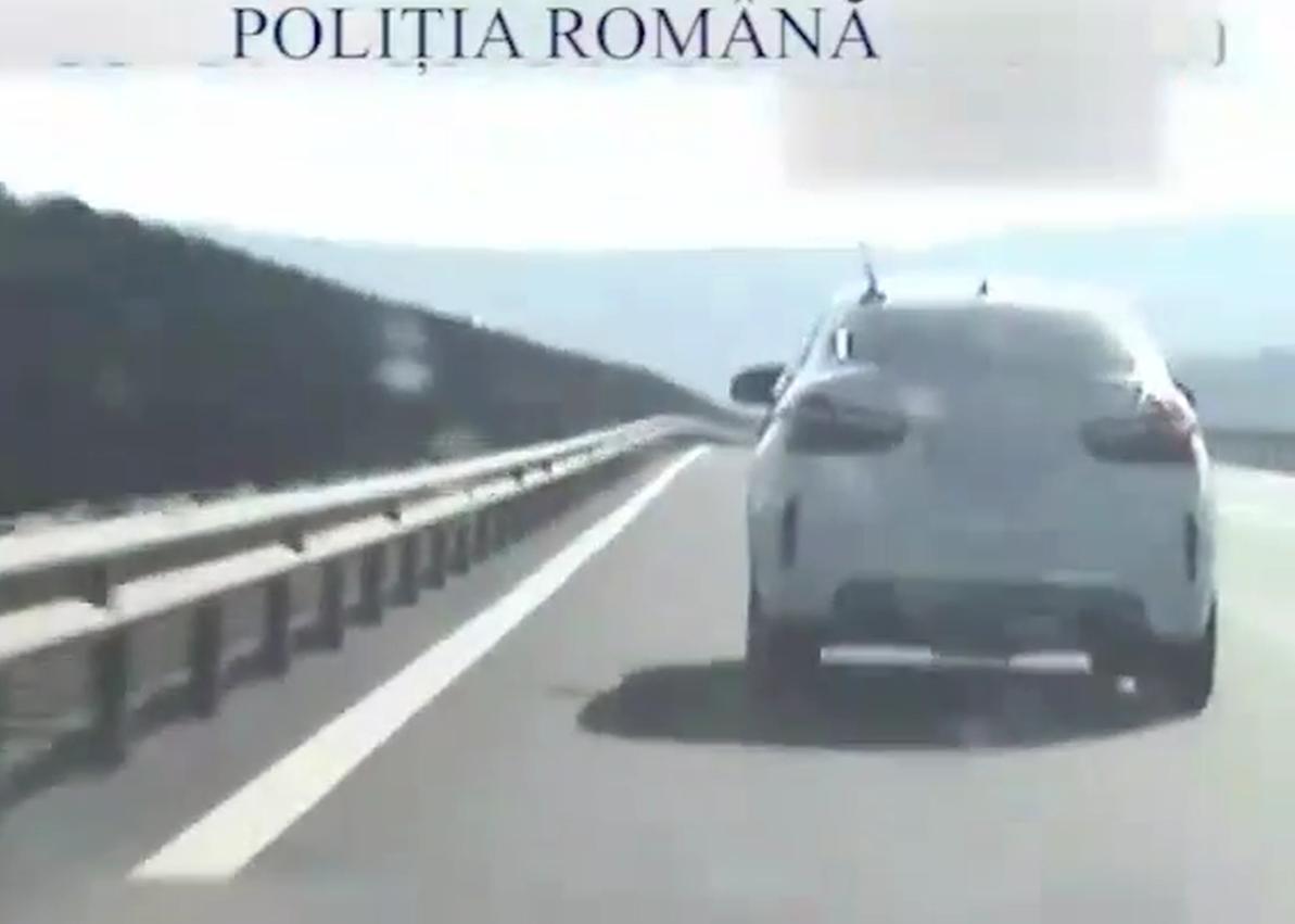 RECORD DE VITEZĂ PE AUTOSTRADĂ – VIDEO!