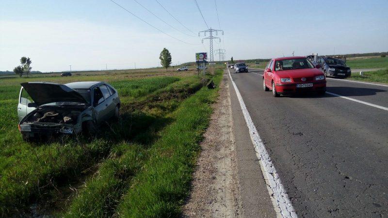ACCIDENT PE DN71! TREI MASINI IMPLICATE, OPT PERSOANE RANITE