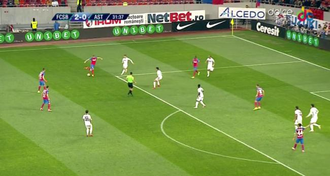 "ASTRA 2""(FCSB)  3-0  ASTRA 1"