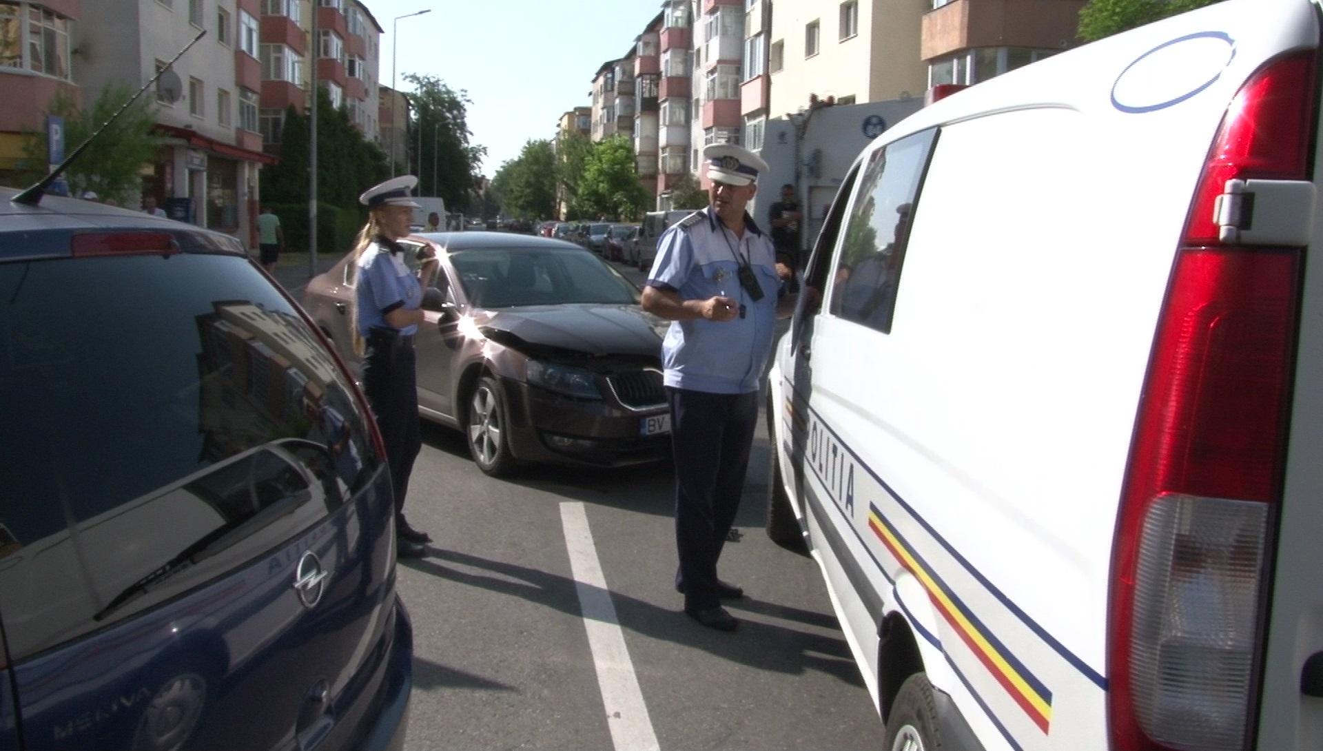"""ACCIDENT ÎN INTERSECȚIA CU """"PROBLEME"""" DIN TÂRGOVIȘTE!"""