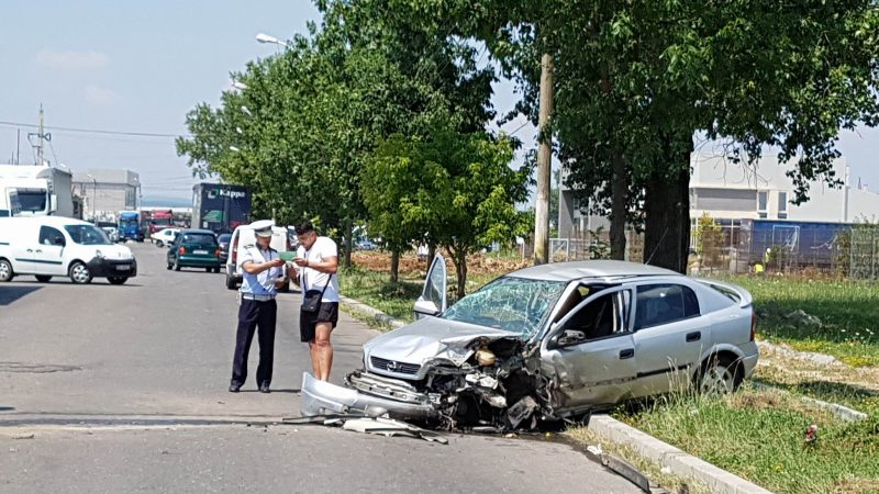 ACCIDENT PE CENTURA TÂRGOVIȘTEI! VIDEO!