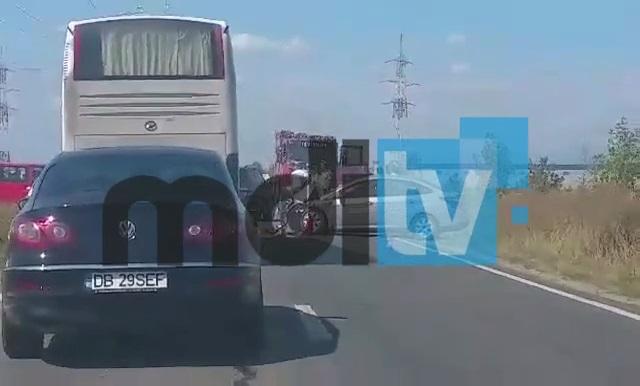 DACIAN CIOLOŞ, IMPLICAT ÎN ACCIDENT ÎN DÂMBOVIȚA – VIDEO!