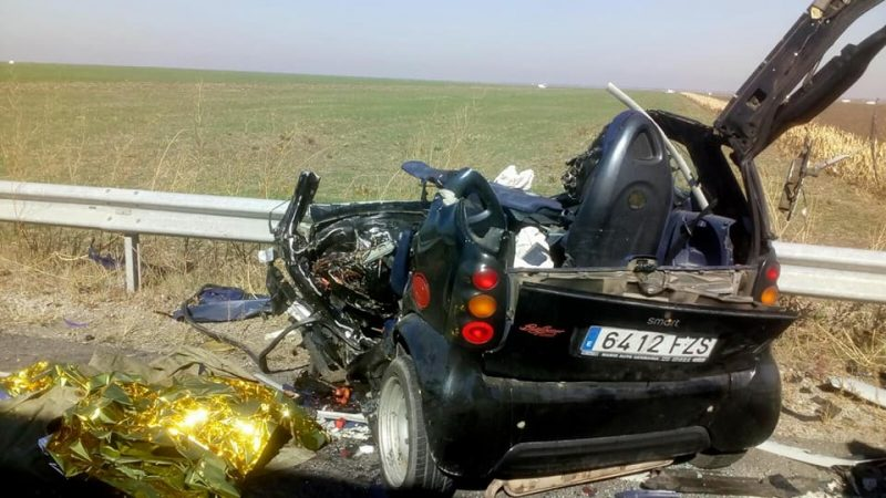ACCIDENT MORTAL ÎN TELEORMAN