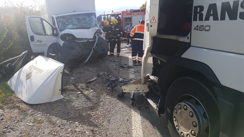 ALT ACCIDENT CU TIR PE DN72, LA I.L. CARAGIALE