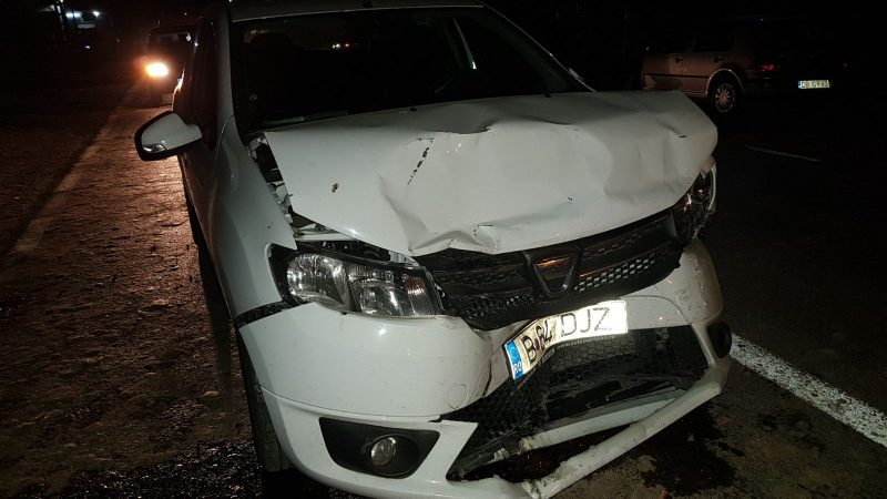 ACCIDENT LA LUNGULEȚU PROVOCAT DE UN ȘOFER BEAT