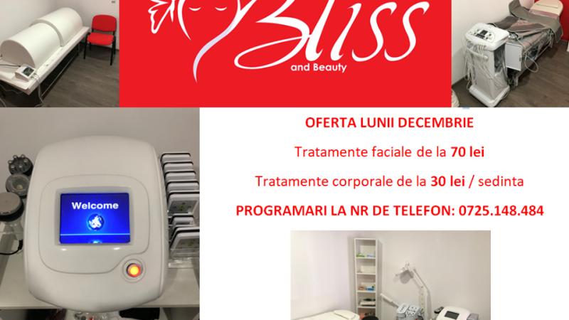 OFERTE DE SĂRBĂTORI LA SALONUL BLISS & BEAUTY