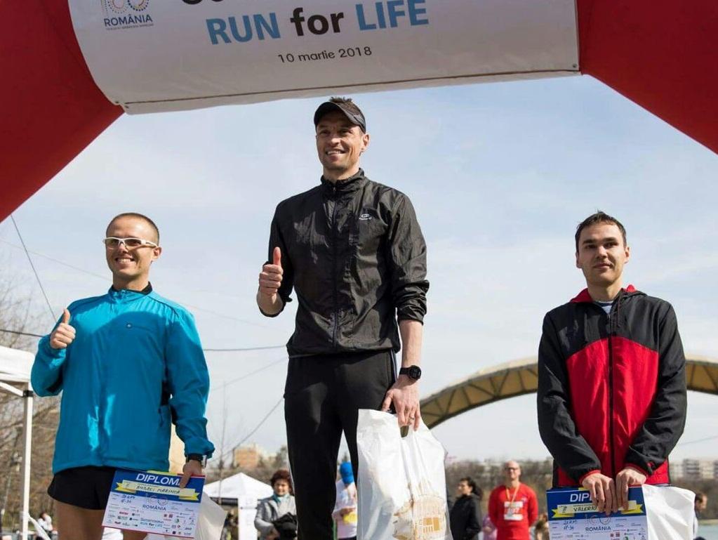 "JANDARM DÂMBOVIȚEAN, CAMPION LA ""RUN FOR LIFE"""