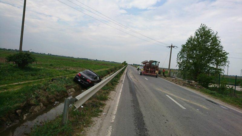 ACCIDENT PE DJ 711D, LA POTLOGI, ÎN DÂMBOVIȚA