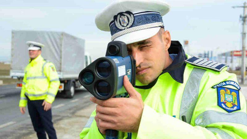 EXCLUSIV! POLIȚIA RUTIERĂ DÂMBOVIȚA, DOTATĂ CU RADARE TIP PISTOL