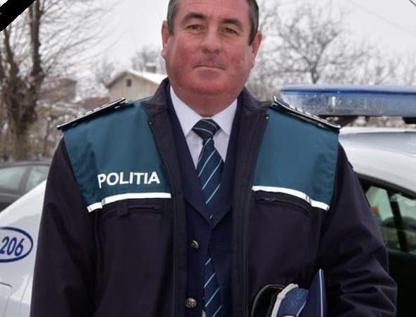AGENTUL ȘEF ION PĂUN S-A STINS DIN VIAȚĂ, ÎN URMA UNUI ACCIDENT VASCULAR CEREBRAL