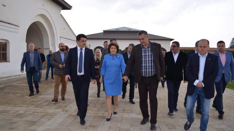 MINISTRUL CULTURII, VIZITĂ ÎN DÂMBOVIȚA, LA INVITAȚIA ROVANEI PLUMB