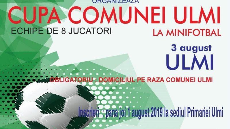 CAMPIONAT DE MINIFOTBAL LA ULMI