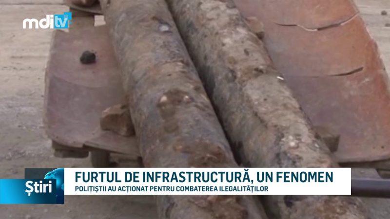 FURTUL DE INFRASTRUCTURĂ, UN FENOMEN