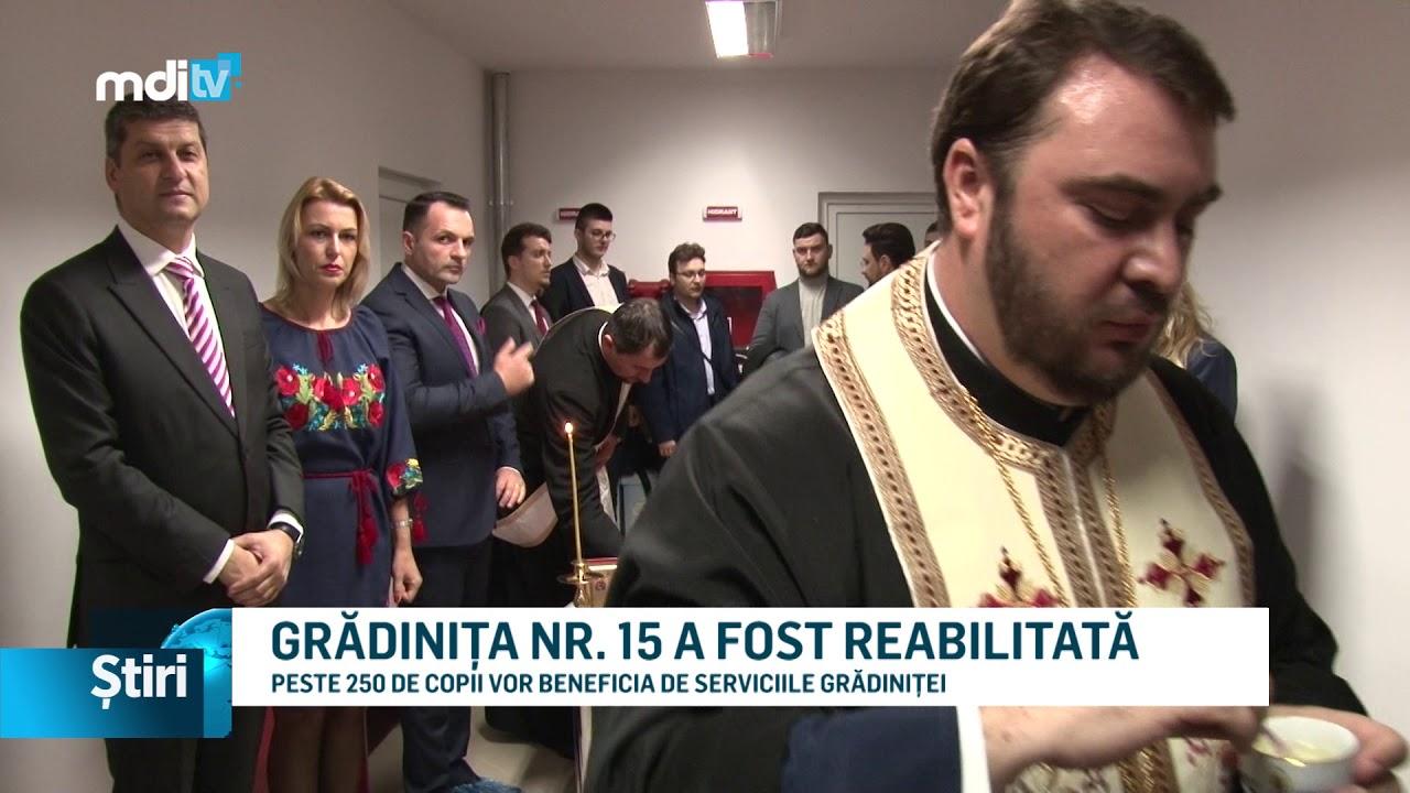 GRĂDINIȚA NR. 15 A FOST REABILITATĂ