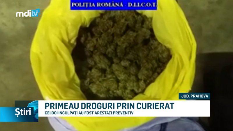 PRIMEAU DROGURI PRIN CURIERAT
