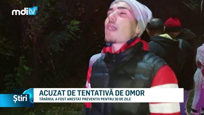ACUZAT DE TENTATIVĂ DE OMOR