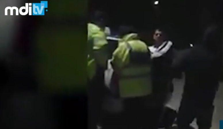 POLIŢIST BUZUNĂRIT ÎN MISIUNE