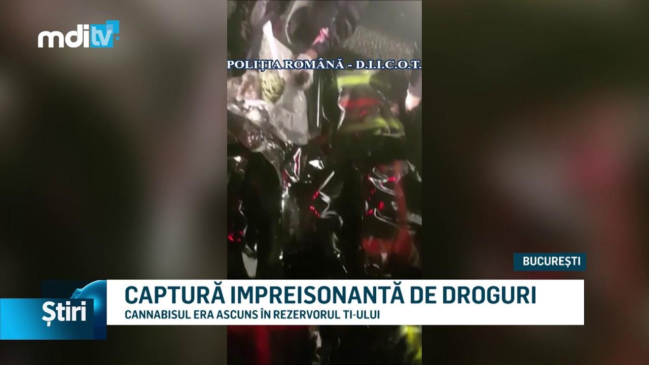 CAPTURĂ IMPREISONANTĂ DE DROGURI