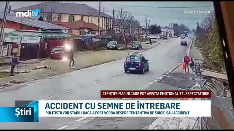 ACCIDENT CU SEMNE DE ÎNTREBARE