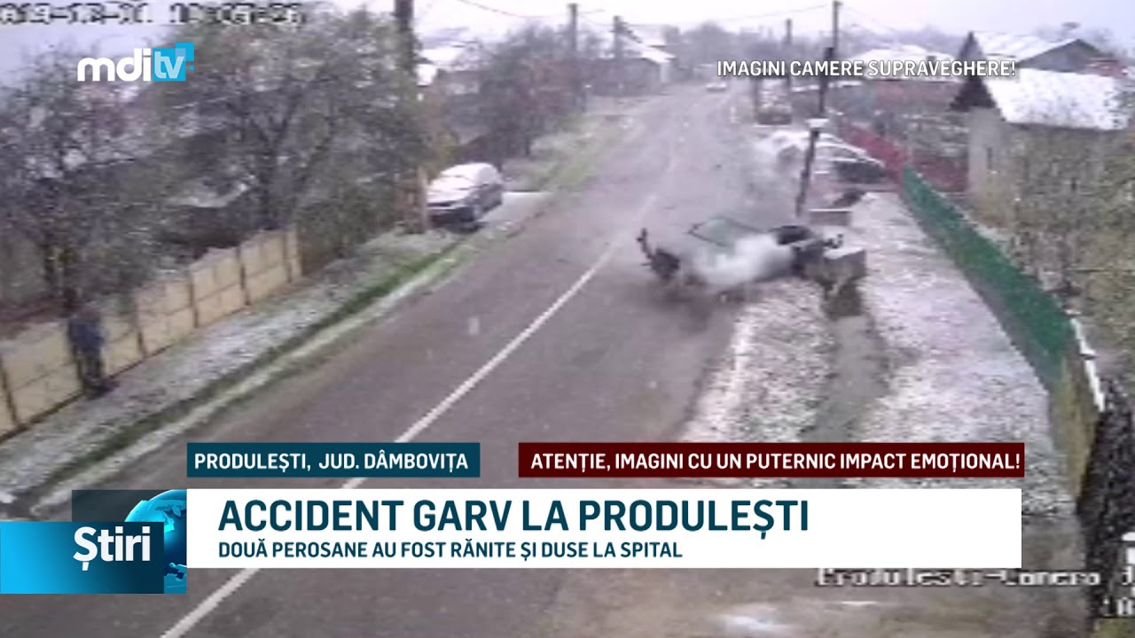 ACCIDENT GRAV LA PRODULEȘTI