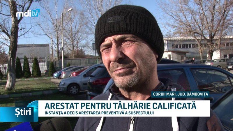 ARESTAT PENTRU TÂLHĂRIE CALIFICATĂ