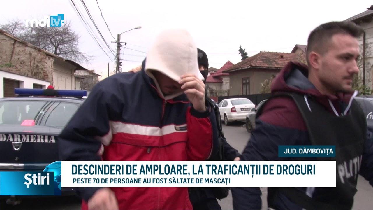 DESCINDERI DE AMPLOARE, LA TRAFICANȚII DE DROGURI