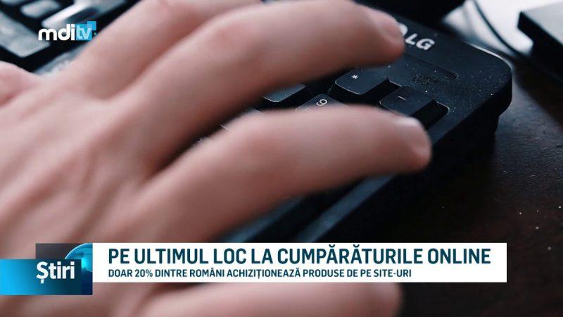 PE ULTIMUL LOC LA CUMPĂRĂTURILE ONLINE