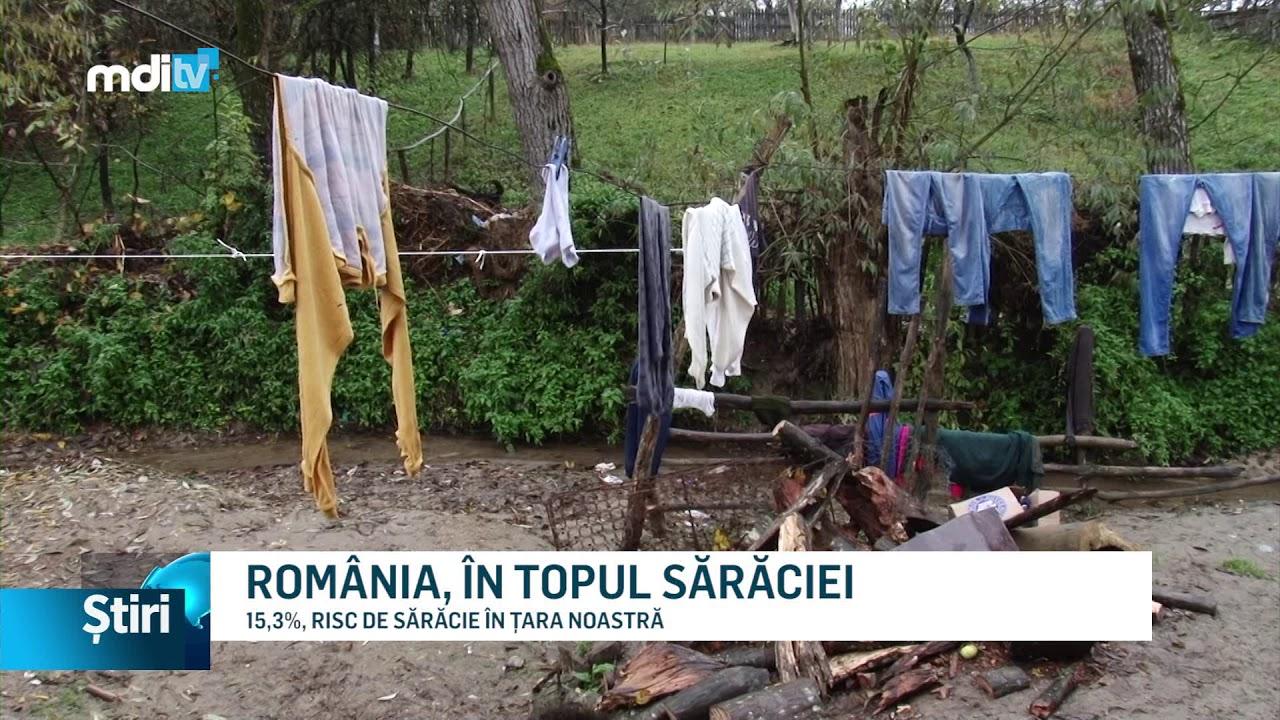 ROMÂNIA, ÎN TOPUL SĂRĂCIEI