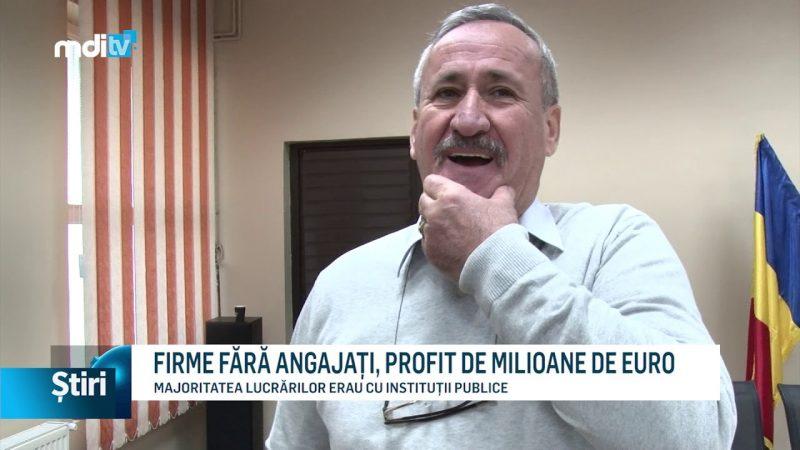 FIRME FĂRĂ ANGAJAȚI, PROFIT DE MILIOANE DE EURO