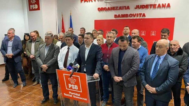 O NOUĂ CANDIDATURĂ PENTRU ȘEFIA PSD DÂMBOVIȚA