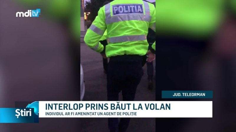 INTERLOP PRINS BĂUT LA VOLAN