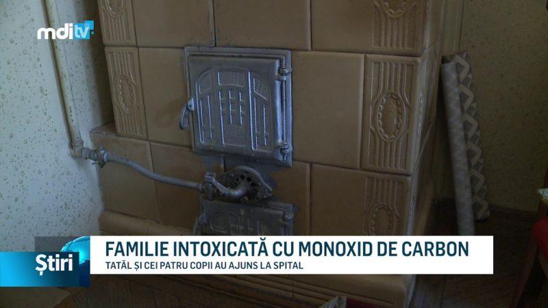 FAMILIE INTOXICATĂ CU MONOXID DE CARBON
