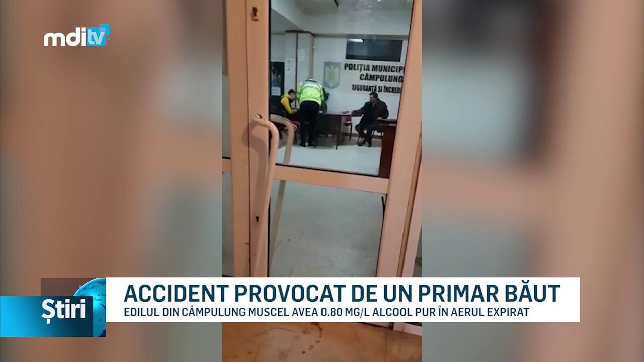 ACCIDENT PROVOCAT DE UN PRIMAR BĂUT